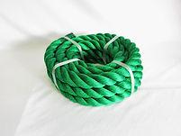 綱引ロープ カラーロープ グリーン