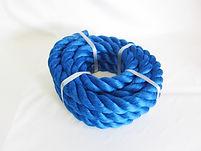 カラーロープ ブルー 綱引ロープ