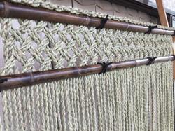 【拡大写真】い草9mm 格子編み