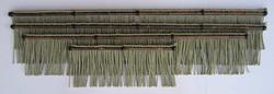 イグサ縄 竹装飾なし 黒竹