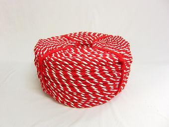 紅白ロープ アクリル