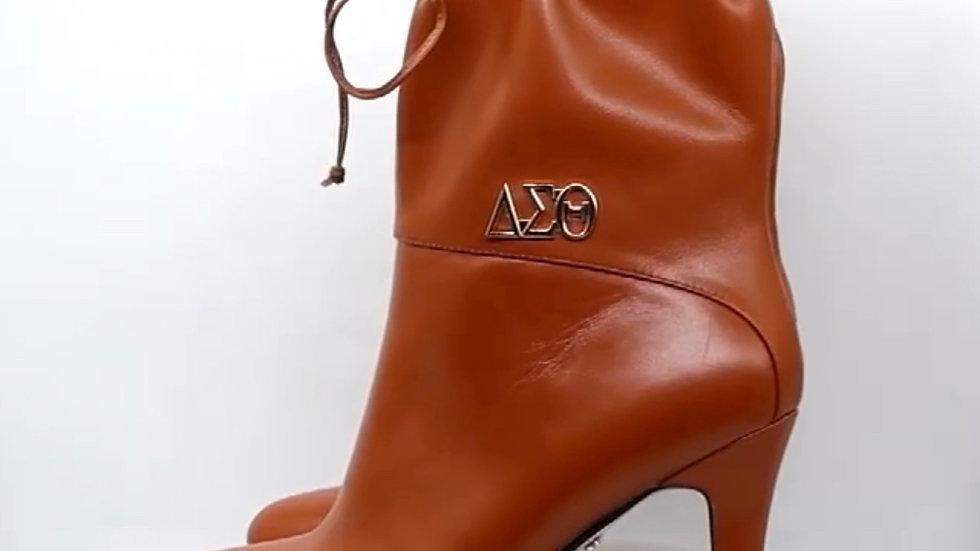 ΔΣΘ Genuine Leather 4in Boots