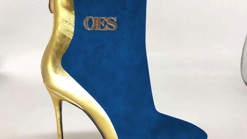 OES Genuine Leather/Suede 4in Boots