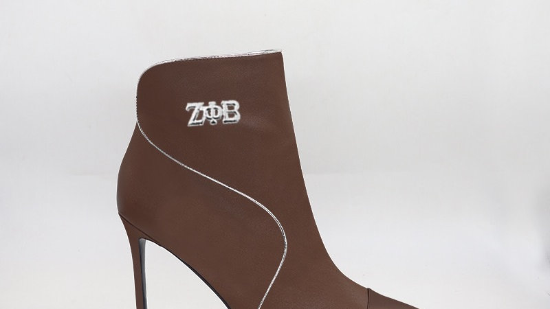 ΖΦΒ Mocha Genuine  Leather 4in Boots
