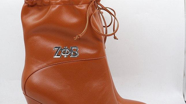 ΖΦΒ Genuine Leather 4in Boots