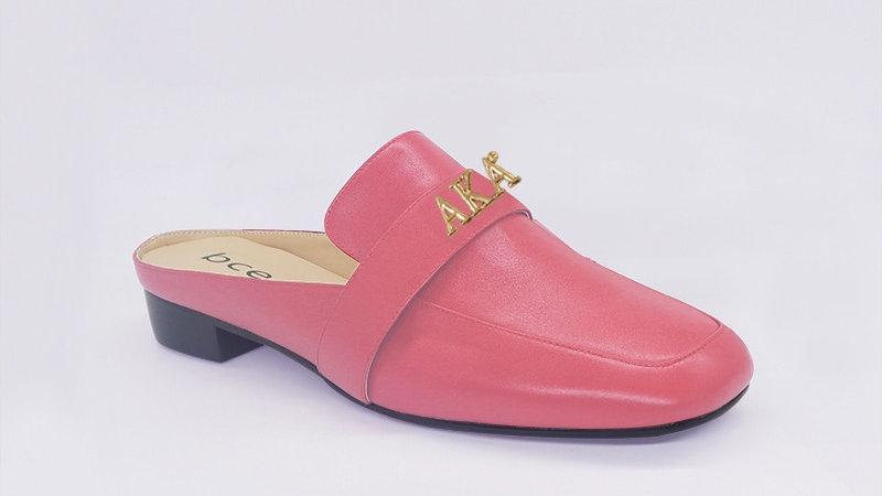 AKA Pink Genuine Leather Flats