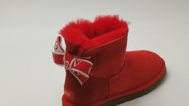 ΔΣΘ  Short Sheep Wool Boots w/1 Ribbon SHIPS IN 45 DAYS