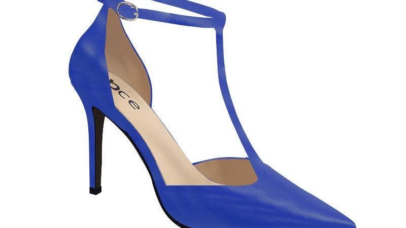 Blue ΖΦΒ Debossed Heels