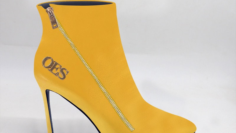 OES Yellow Genuine Leather 4in Boots