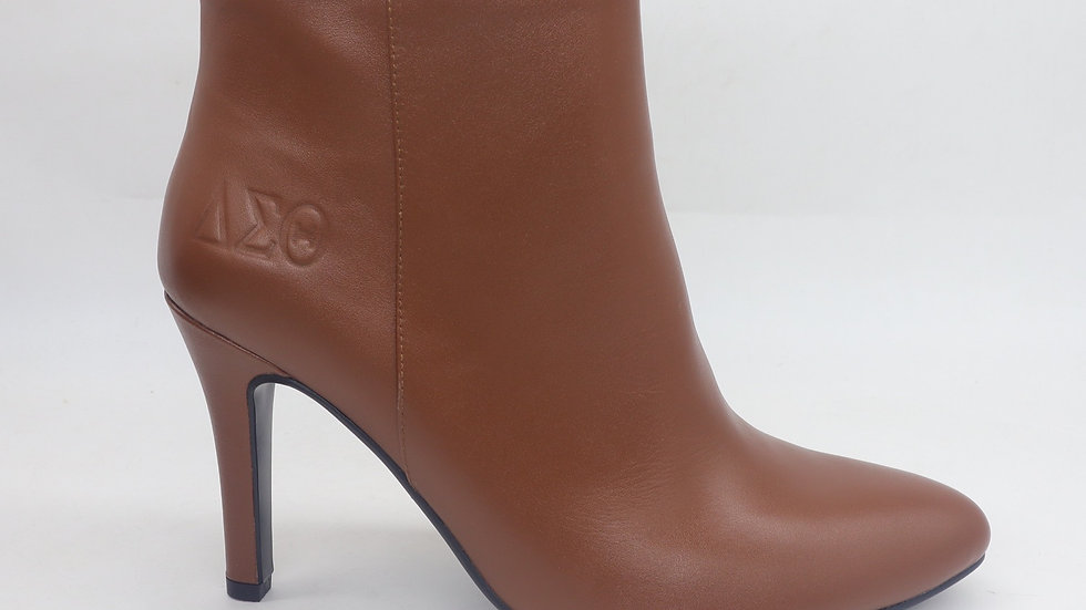 Mocha Genuine Leather Boots