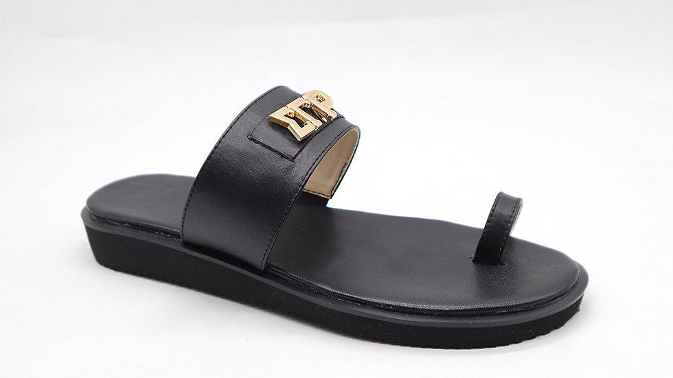 ΣΓΡ genuine leather sandals