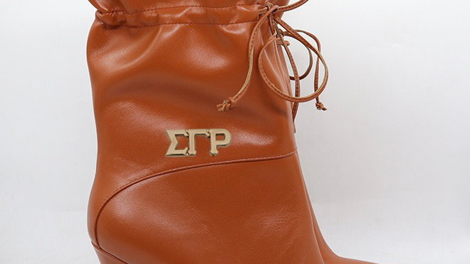 ΣΓΡ  Genuine Leather 4in Boots