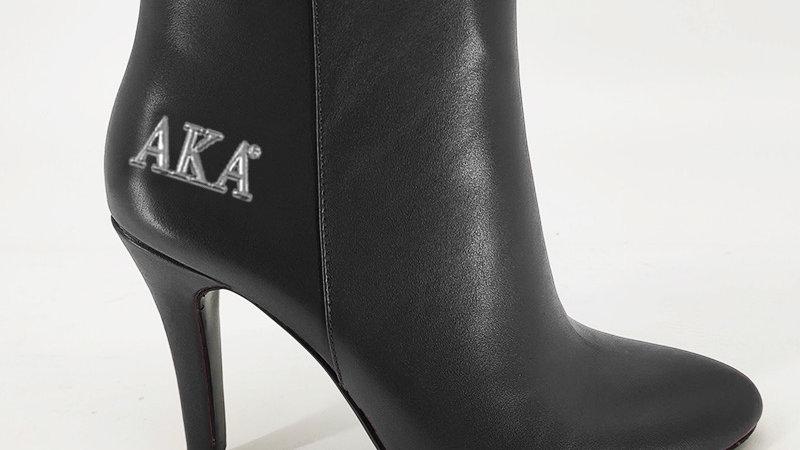 AKA Black Genuine leather boots