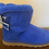 Thumbnail: ΖΦΒ  Short Sheep Wool Boots w/ 1 ribbon SHIPS IN 45 DAYS