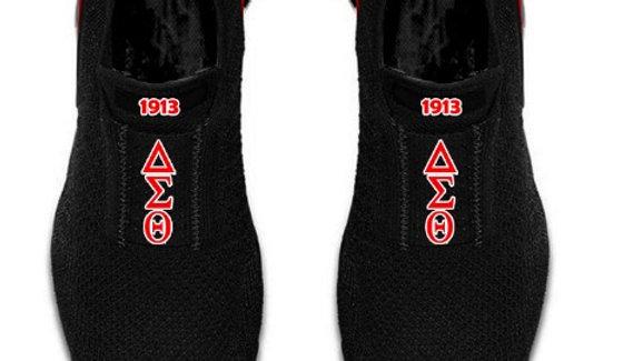 ΔΣΘ athletic shoes ships November 29th