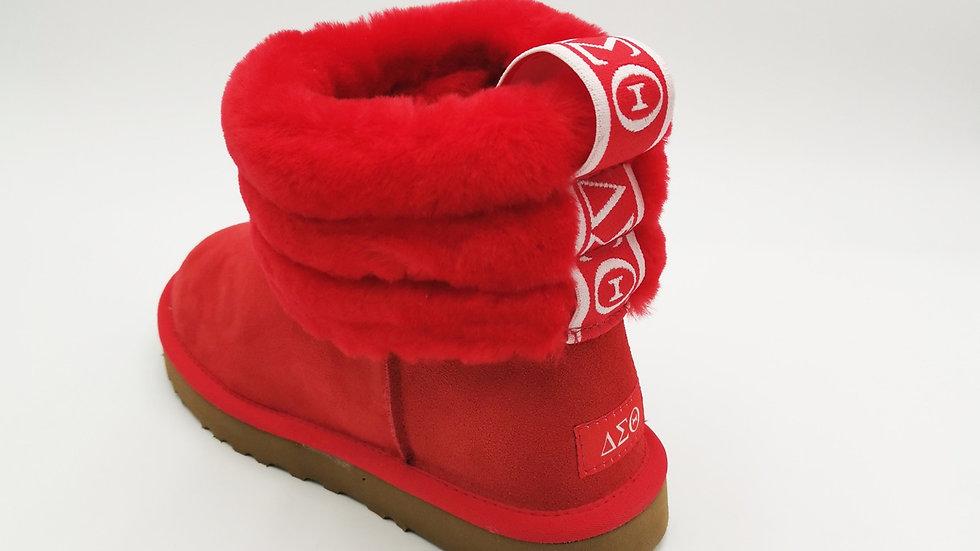 ΔΣΘ Sheep wool boots-Ships January 4th