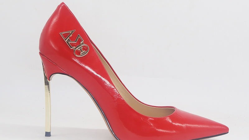 Red Patent Leather 4 in heels