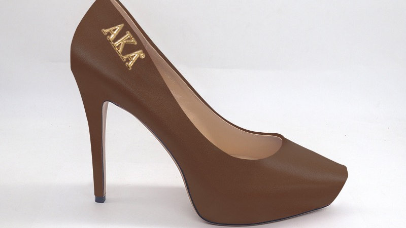 AKA Mocha Genuine Leather Platform 4in Heel