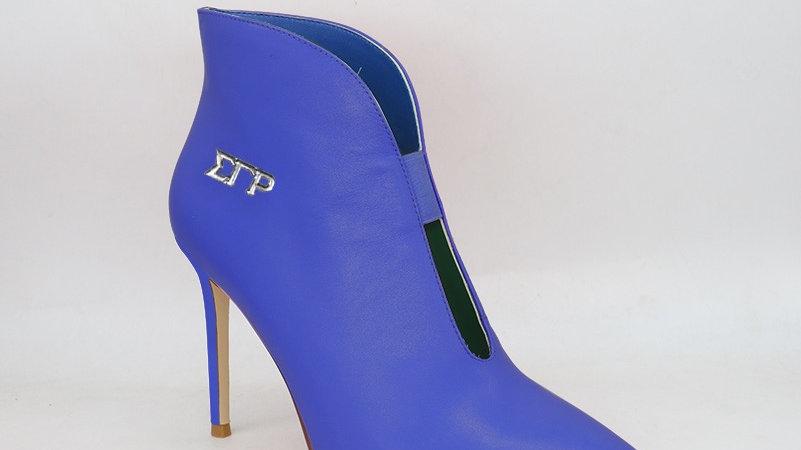 ΣΓΡ Genuine leather 4in heels -Ships in 45 days