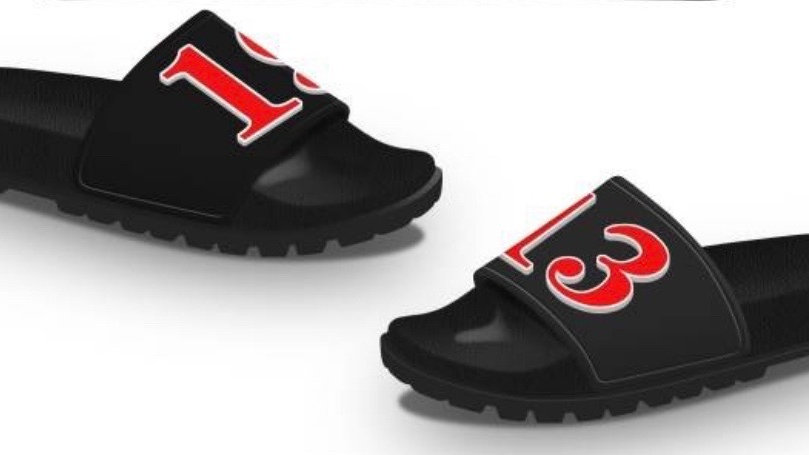 Black/Red 1913 3-D slides -Ships in 45 days