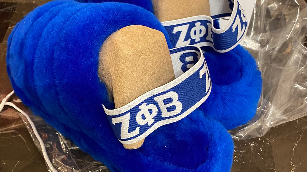 ΖΦΒ Genuine Sheep Wool Slippers  SHIPS IN 45 DAYS