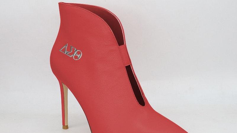 ΔΣΘ Genuine leather 4in heels -Ships in 45 days
