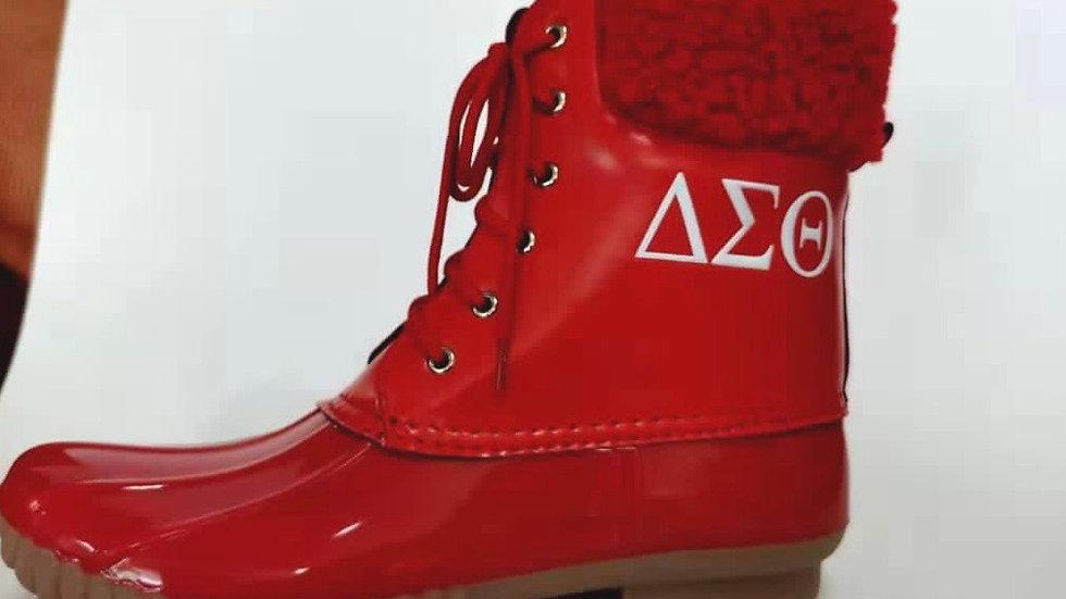 ΔΣΘ Rain boots SHIPS APRIL 15TH