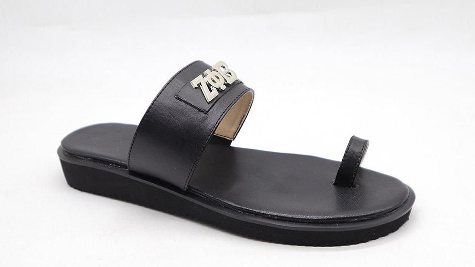 ΖΦΒ genuine leather sandals
