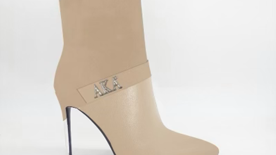 AKA Beige Suede/Genuine Leather 4in Boots