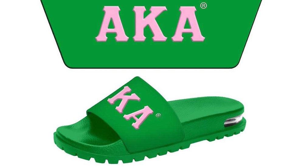 AKA 3-D Green slippers -SHIPS JANUARY 29th