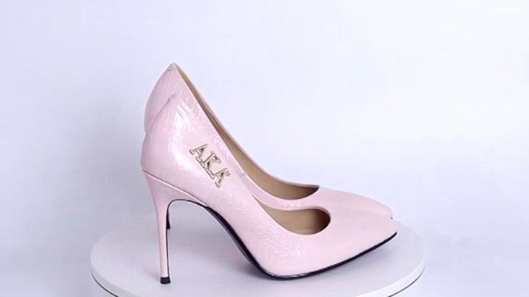 AKA Genuine Leather heels