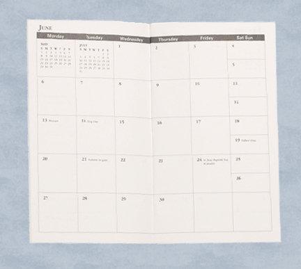 Standard Monthly Planner refill