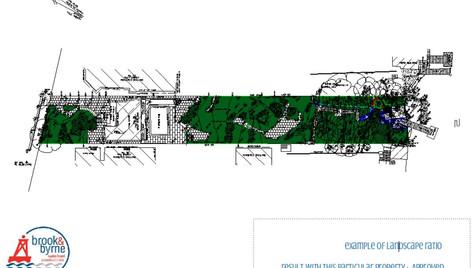 Lanscape & Floorspace Ratio