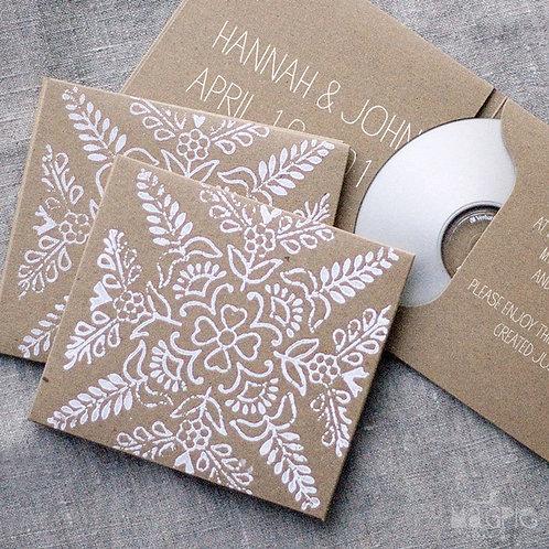 White Clover Wedding Bomboniere CD