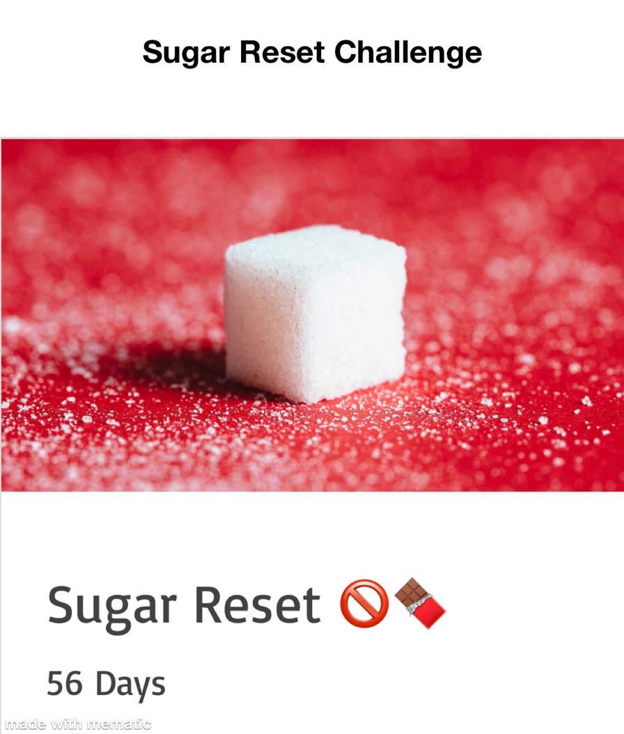 Sugar Reset Challenge