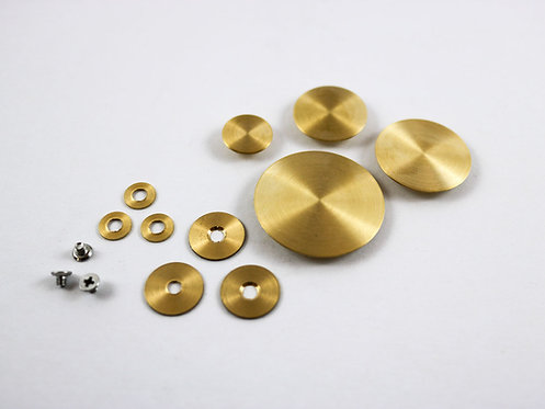 TM Custom One Piece Flat Brass Resonators