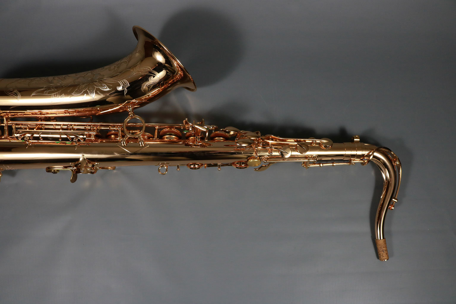 TM Custom 500SL Gold Plated Tenor Saxophone 472 -$3895