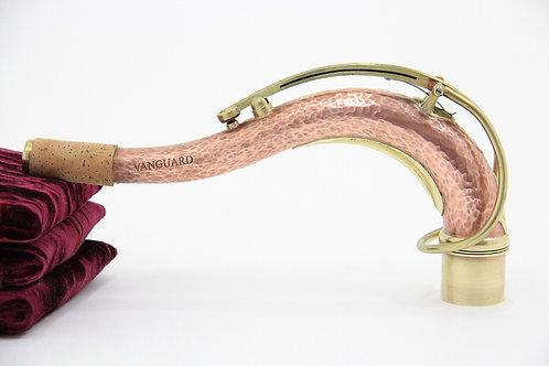 KB Sax Vanguard Hand-Hammered Copper Tenor Saxophone Neck