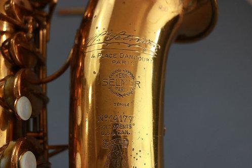 Selmer Cigar Cutter Alto Saxophone 14xxx - $2995.00