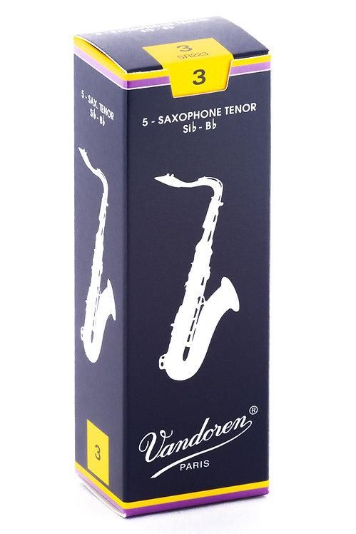 Vandoren Traditional Tenor Saxophone Reeds