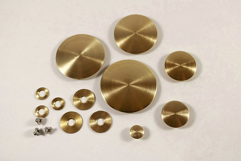 TM Custom One Piece Domed Brass Resonators