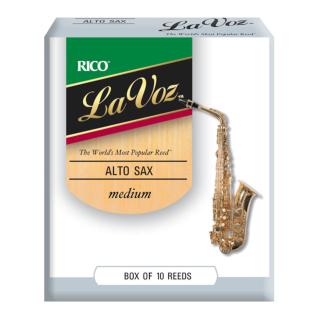 Rico La Voz Alto Saxophone Reeds
