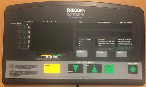 Precor Fitness C764 console / overlay / 57014-110
