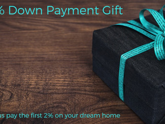 2% Down Payment Gift
