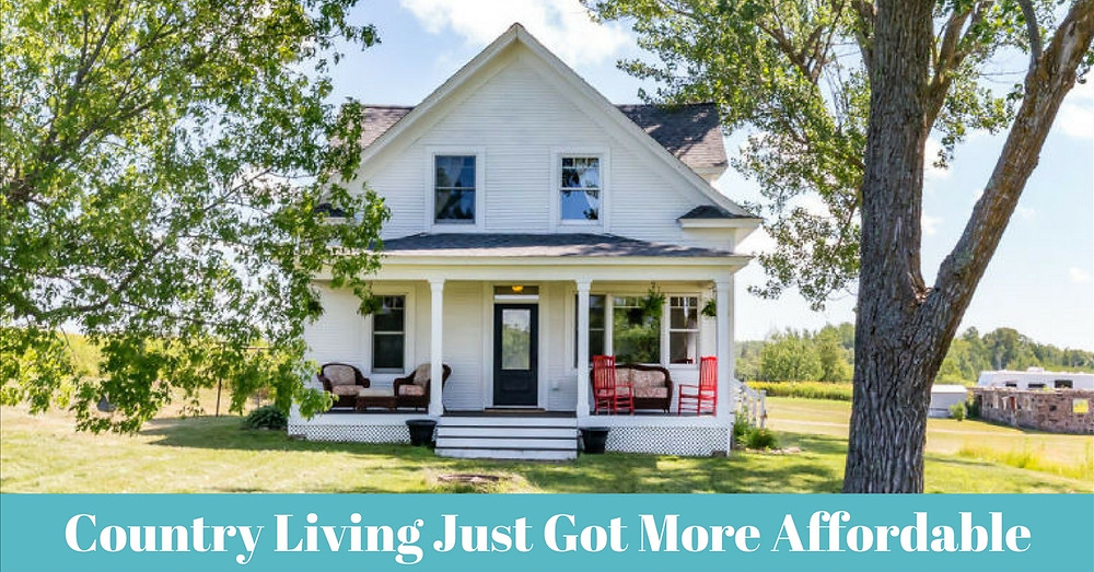 Country Living Just Got More Affordable with lower fees on USDA home loans - Logan Utah mortgage company