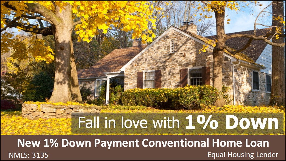 New 1% Down Payment Home Loan | Logan Utah Home Loans