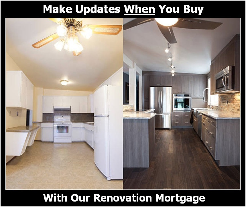 Make home improvements when you buy a home | Cache Valley renovation mortgages | Logan Utah