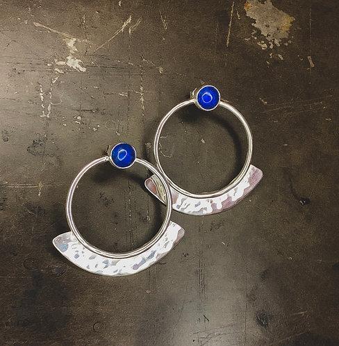 November Blue Earrings
