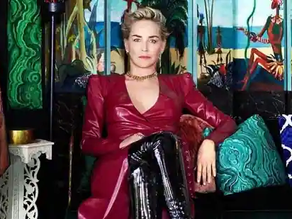 Sharon Stone reveals the reason behind her big breast