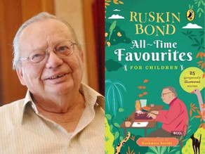 Ruskin Bond curates attractive collection for his 87th Birthday